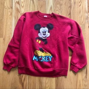 Vintage Mickey Mouse Crewneck